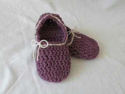 VERY EASY crochet women's chunky slippers tutorial for beginners