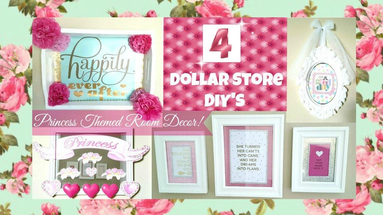 4 Girly Princess Room Decor Ideas Dollar Store Diys