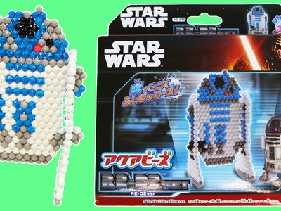 AquaBeads 3D Figure Star Wars R2 D2 DIY Magical Beads Into 3D Star Wars Characters!