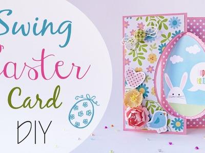 Biglietto Swing di Pasqua - DIY Swing Easter Card