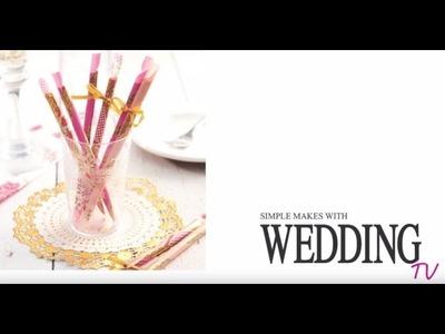 Bridal DIY: budget-friendly wedding decoration tutorial