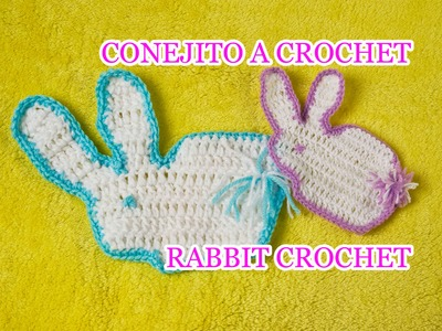 COMO HACER UN CONEJITO A CROCHET. HOW TO DO A RABBIT WITH CROCHET