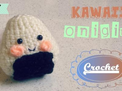 Crochet Cute Kawaii Onigiri | KAWAII Amigurumi | DIY