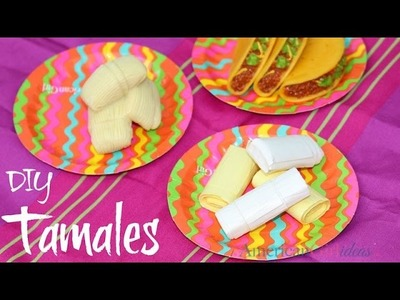 DIY American Girl Tamales Craft