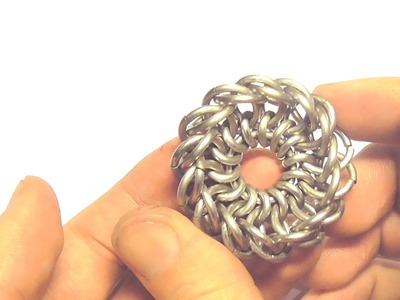 DIY CHAINMAIL! - How to make a pendant?