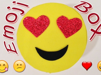 DIY crafts : Emoji box - Ana | DIY Crafts