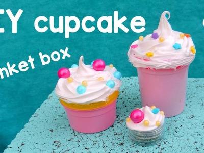 DIY Cupcake Trinket Box