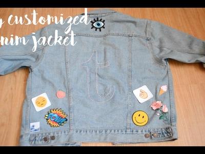 DIY Customized Denim Jacket