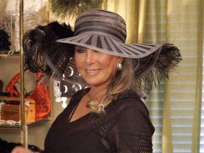 DIY.  How to Make a Kentucky Derby Feather Hat!