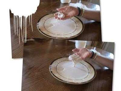 DIY How To Make Oobleck! | LorayOfSunshine | OMMyGoshTV