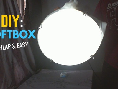DIY: How To Make Your Own SoftBox Light at Home!