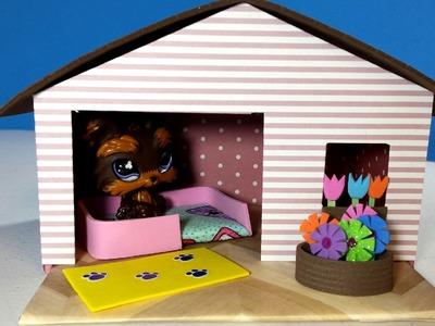 DIY LPS Doll Dog House