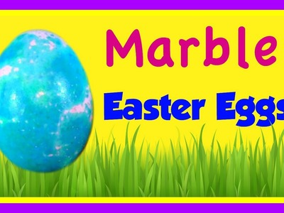 DIY Marbled Egg Dyeing!  How To Marble Easter Eggs!  PAAS EASTER EGGS!  Kids YouTube Video