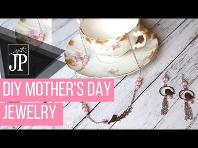 DIY Mother's Day Jewelry Gift Set - Jennifer Priest of Hydrangea Hippo