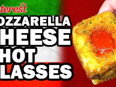 DIY Mozzarella Shot Glasses, Corinne VS Cooking #4