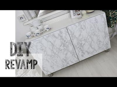 DIY Revamp Easy Marble Effect