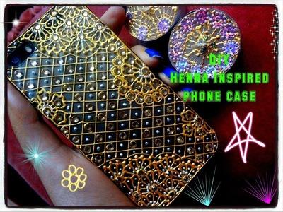 Easy DIY: Beautiful henna inspired phone case Tutorial