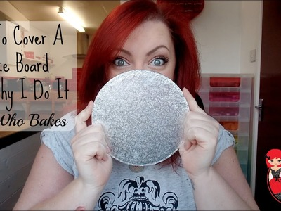 How To Cover A Cake Board And Why I Do It - She Who Bakes