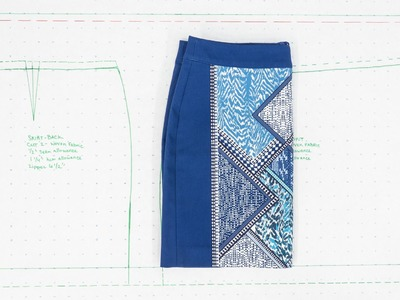 How to Create Patterns From Existing Clothes - Simple Woven Skirts