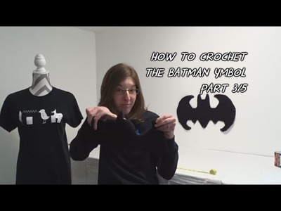 How to Crochet the Batman Symbol - Part 3.5 - Updated Version