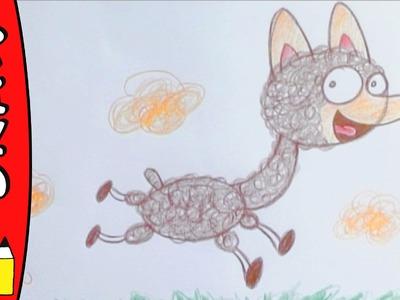 How To Draw An Alpaca | Art Ideas For Kids | Øistein Kristiansen