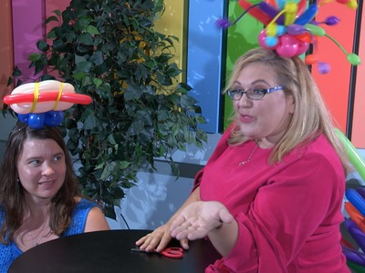 How To Make a Balloon Hot Dog Fascinator Hat