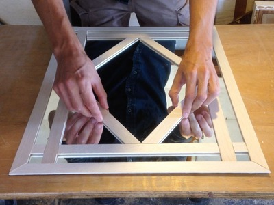 How To Make A Decorative Mirror Frame