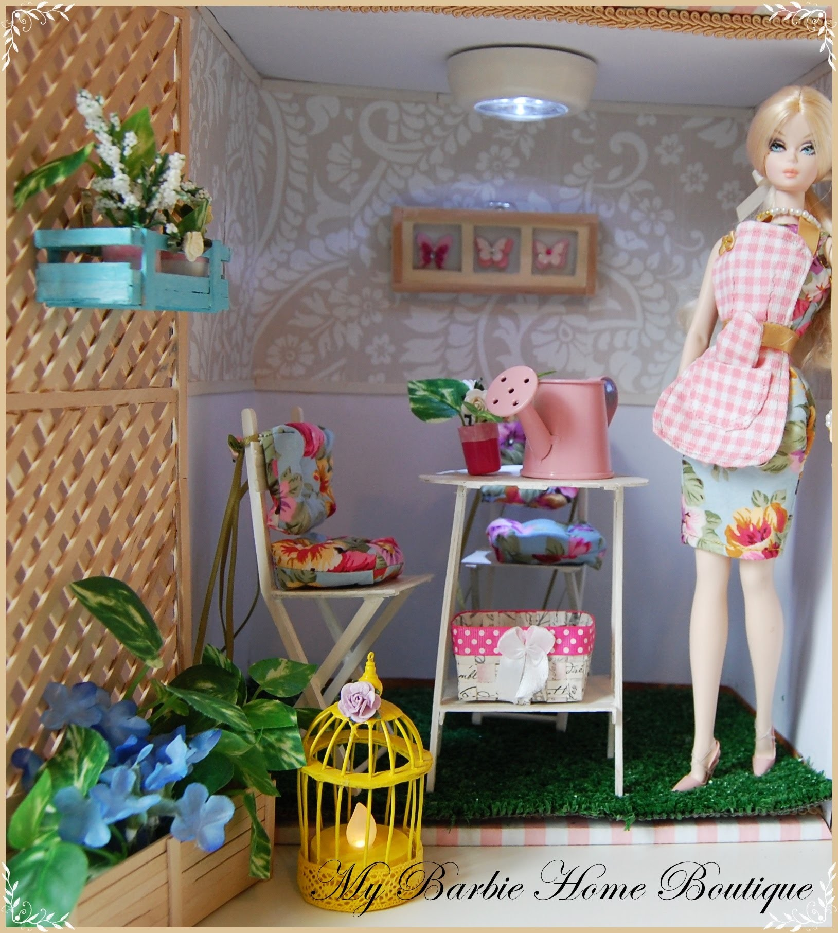 How To make a Diorama for Your Doll