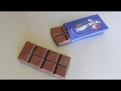 How to make a paper chocolate