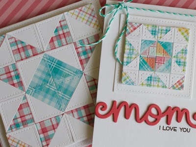 How to make a paper quilt card