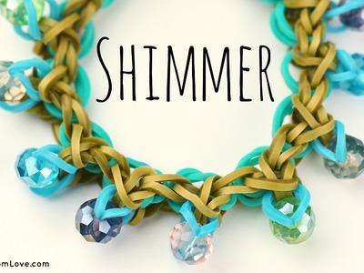 How to Make a Rainbow Loom Shimmer Bracelet