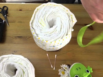 How to make a simple Nappy Cake