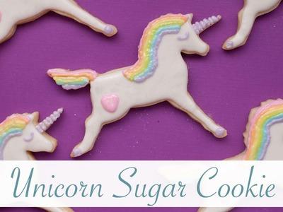 How to Make a Unicorn a Sugar Cookie