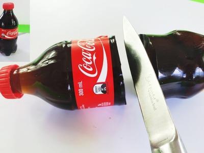 How to Make DIY Gummy Coca Cola 300ml Jelly Bottle Soda Coke Jello! WOW!