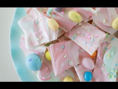 How To Make Easter Bunny Bark