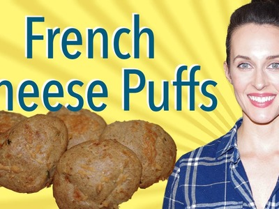 How to Make Gougeres Demo - Recipe by David Lebovitz (French Cheese Puffs)