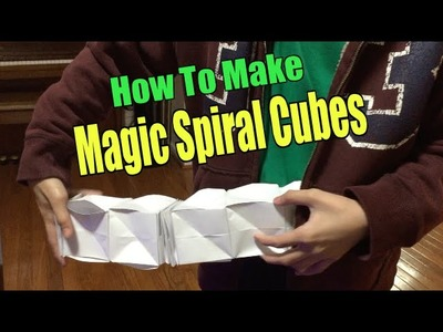 How to Make Magic Spiral Cubes