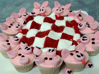 How to make pigs in a blanket cake