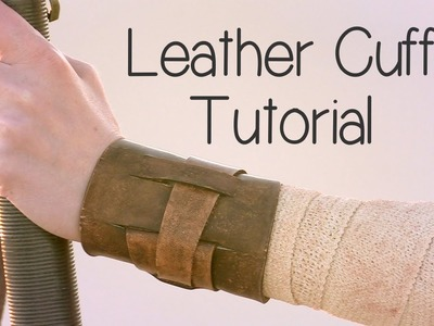 How to Make Rey's Leather Cuff (Star Wars) - Atelier Heidi