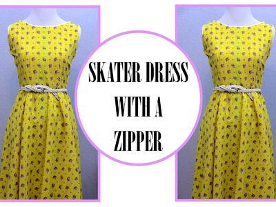 How to sew a Circle Skirt Dress