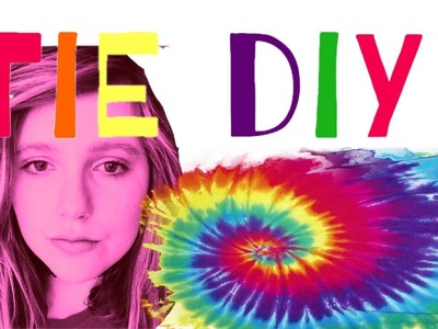 How To Tie Dye With Food Coloring ( Didn't Go As Planed)