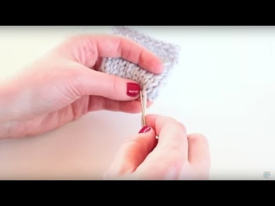 Knitting 101: How to Weave in Ends