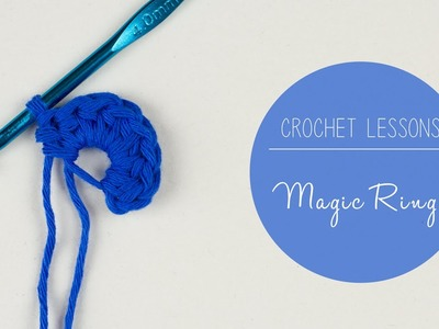 Learn to Crochet - How to Crochet a Magic Ring.Magic Circle by Croby Patterns