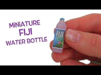 Miniature Fiji Water bottle - DIY Mini Fiji Waterbottle - Tutorial