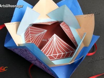 Multi-fold Scrapbook Tutorial | How to make Love Scrapbook | JK Arts 910
