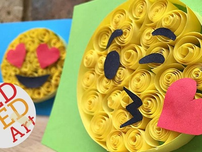 Paper Quilling for Beginners - Emoji Crafts - Easy DIY - Cool Craft Idea