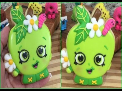 PART 1 Apple Blossom SHOPKINS Cookie(How To)