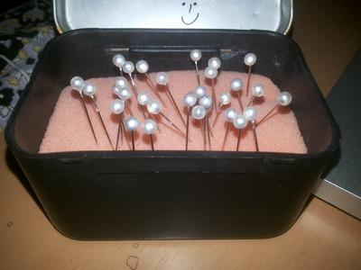 Pin holder box tutorial (DIY)