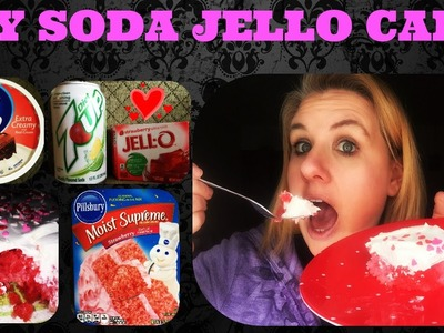 Shake It Off Week #53 DIY SODA JELLO CAKE