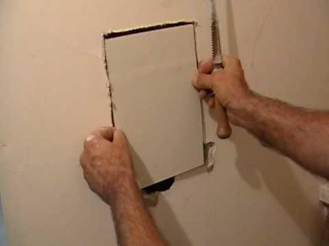 Chapter 2 Laurier Desormeaux, Repair a hole with NO SANDING!